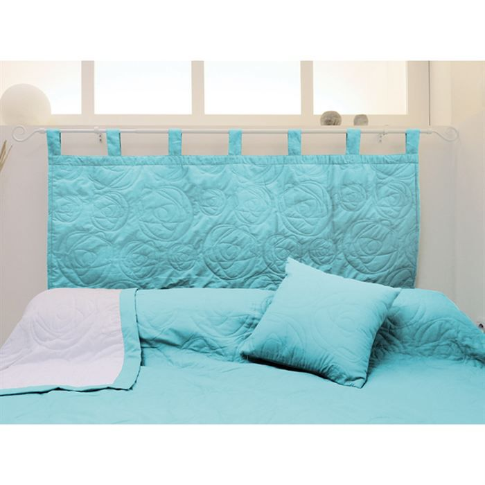 t te de lit jupiter turquoise achat vente t te de lit. Black Bedroom Furniture Sets. Home Design Ideas