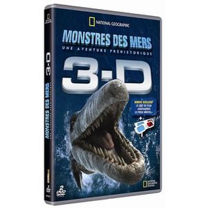 DVD DOCUMENTAIRE DVD Sea monsters 3D : a préhistoric adventure