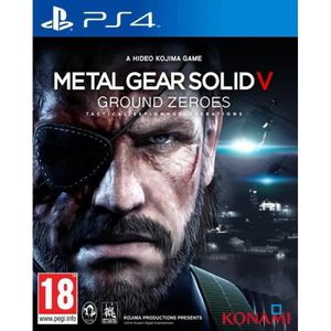 Metal Gear Solid V: Ground Zeroes Jeu PS4
