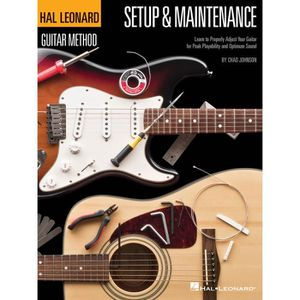 PARTITION Hal Leonard Guitar Method - Setup & Maintenance