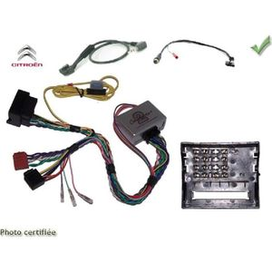 INSTALLATION AUTORADIO Interface Cde au Volant Citroen C2/ C3/ C4/ C5/ C8