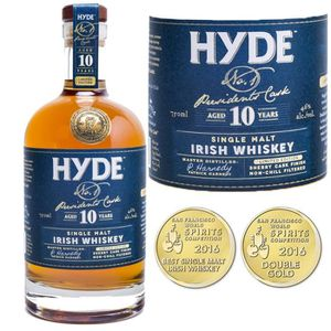 WHISKY BOURBON SCOTCH Whiskey Hyde 10 ans President's Cask N°1 46° 70cl