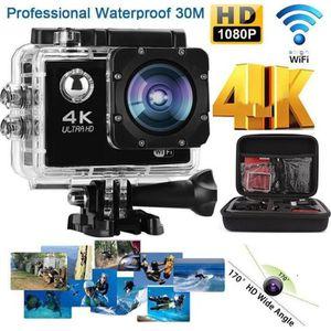 CAMÉRA SPORT Neuf Caméra HD 1080P 4K Action Sport Caméra WiFi D