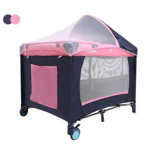 LIT PLIANT  Lit Parapluie Lit de Voyage Pliant pour Bébés avec