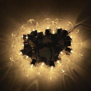 GUIRLANDE D'EXTÉRIEUR 20 ampoules LED guirlande lumineuse extérieure déc