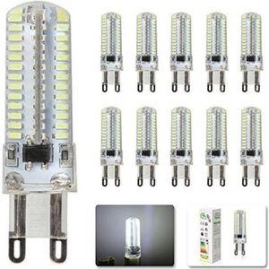AMPOULE - LED 10X G9 Ampoules LED Blanc Froid 6500k 4W Super Lum