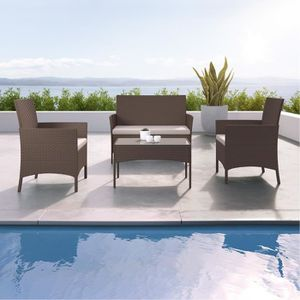 table chaise terrasse achat vente pas cher. Black Bedroom Furniture Sets. Home Design Ideas