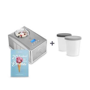 SORBETIÈRE Machine à glace, Sorbetière Électrique avec compre