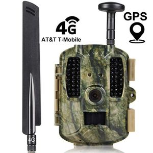 APP. PHOTO MINIATURE 4G Chasse Caméra GPS APP Contrôle Infrarouge Visio