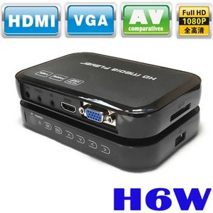LECTEUR MULTIMÉDIA Portable 1080p Mini Full HD H6W Media Center Lecte