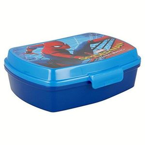 Marvel Spider Man 2 couches Bento Lunch Box Food Récipient avec sac isotherme