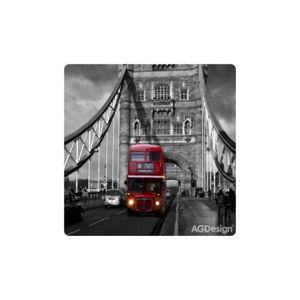 OBJET DÉCORATION MURALE Cadre Londres Bus déco UK - déco plexi