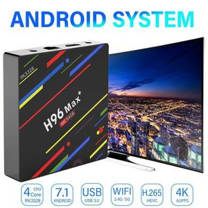 BOX MULTIMEDIA ss-33-NEUFU H96 Max Plus RK3328 4G - 64G Android 8