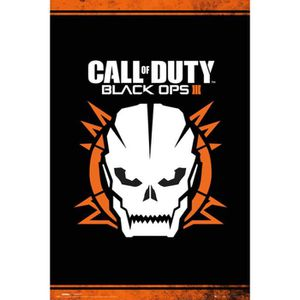 "AFFICHE Poster ""Call of Duty"" Black + 1 Powerstrips©, tesa"