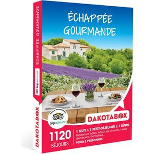 COFFRET SÉJOUR DAKOTABOX - Coffret Cadeau -Échappée gourmande - 1