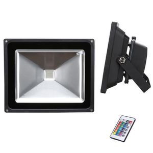 Spot led multicolore achat vente spot led multicolore for Spot exterieur avec telecommande