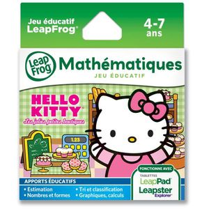 JEU CONSOLE EDUCATIVE HELLO KITTY Explorer Jeu LeapPad LeapFrog