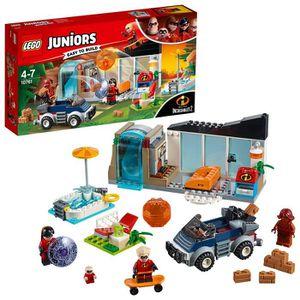 ASSEMBLAGE CONSTRUCTION Lego Juniors La Grande Évasion maison pour enfants