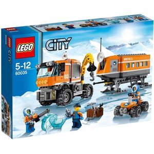 ASSEMBLAGE CONSTRUCTION LEGO® City 60035 La Base arctique mobile