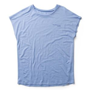 T-SHIRT Houdini Activist Message T-shirt Femme, boost blue