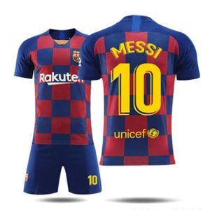 MAILLOT DE FOOTBALL Barca Lionel NO.10 Messi Jersey Maillots Foot et S