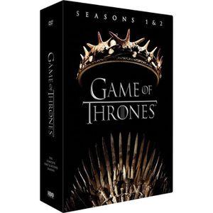 DVD SÉRIE Coffret DVD GAME OF THRONES : Saison 1 / Saison 2