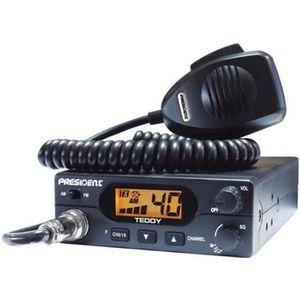INTERCOM MOTO PRESIDENT Station de radio CB Teddy ASC - 40 canau