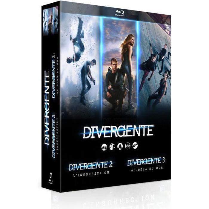 BLU-RAY FILM Coffret intégrale Divergente - En Blu-ray