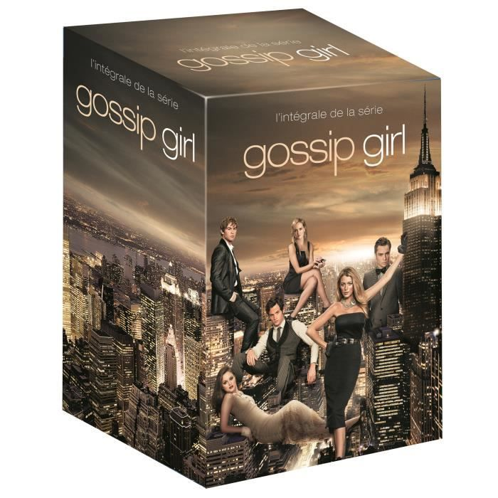 dvd coffret gossip girl l 39 int grale de la s rie. Black Bedroom Furniture Sets. Home Design Ideas