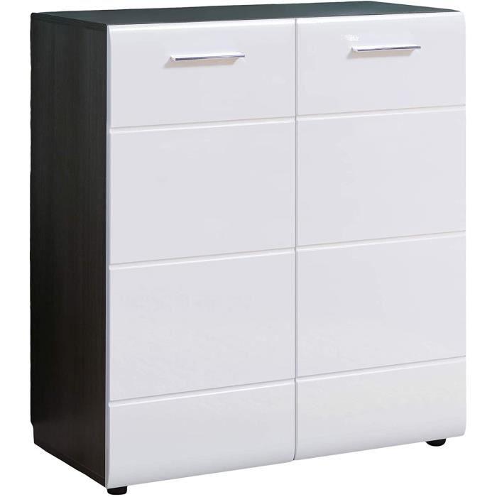Line Commode-Blanc-Largeur 80 cm[528]