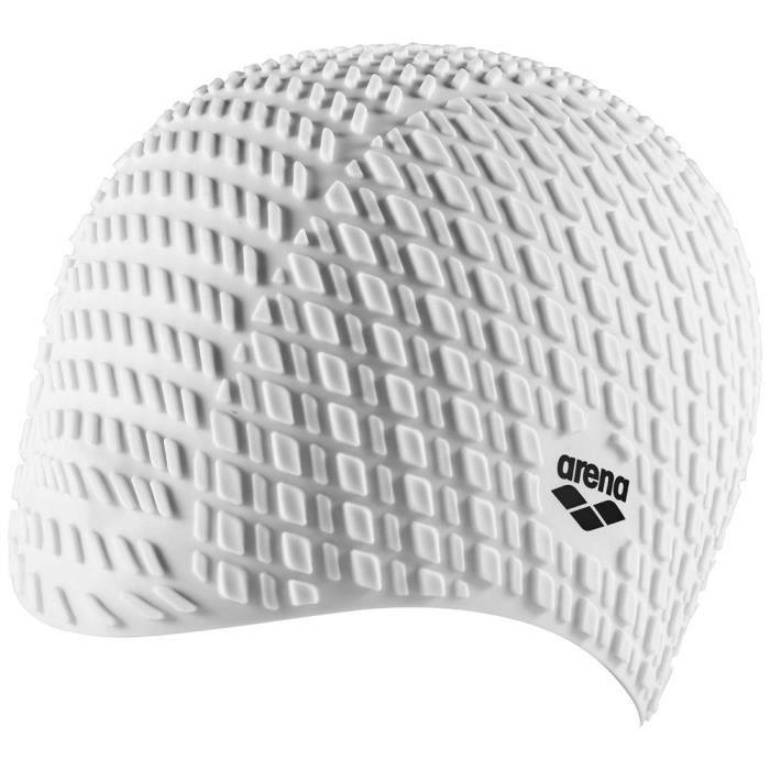 Équipement Bonnets de bain Arena Bonnet Silicone - Blanc
