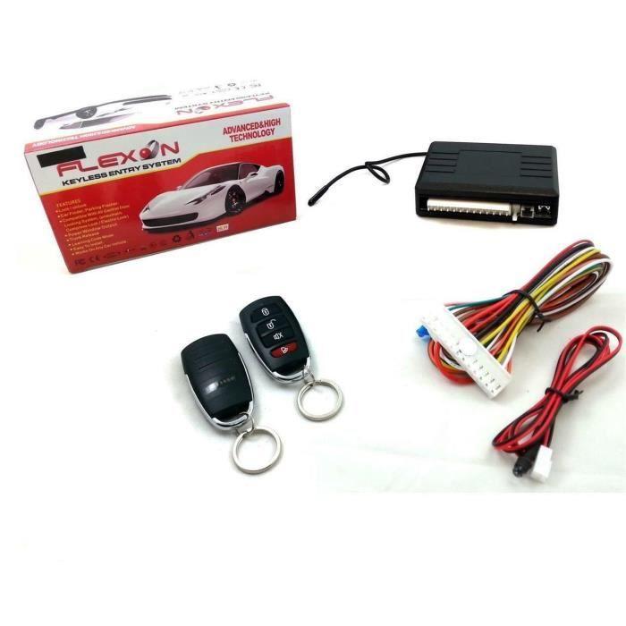 Kit Télécommande Verrouillage Central Pour Peugeot 106 306 406 405 309 206 307