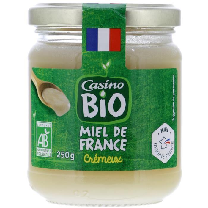 CASINO Miel de France Bio - 250G