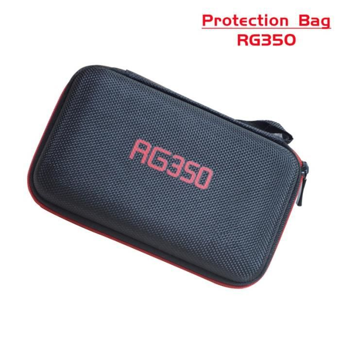 Sac de Protection anbernique pour Console de jeu rétro RG350 Version joueur de jeu RG 350 Console de jeu rétro portable