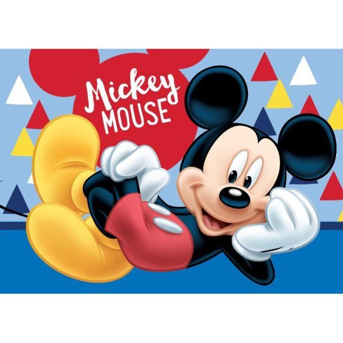 Jerry Fabrics Mickey & Friends 17BM303 Tapis de bain antidérapant avec mousse à mémoire de forme Taille 40x60 cm PVC-Polyester