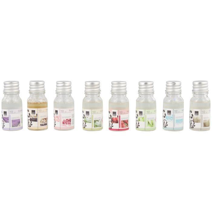 Ensemble d'huile parfumée - 8 parfums - 8 Pièces 10 ML - Huile parfumée
