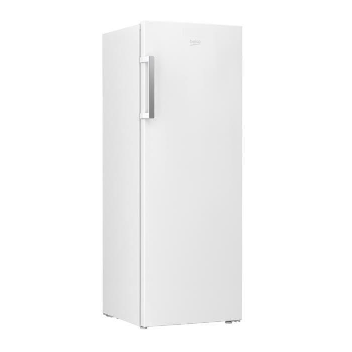 BEKO - RFNE290L31WN - Congélateur armoire - 250 L - Froid ventilé - A+ - L 59,5 x H 171,4 cm - Blanc