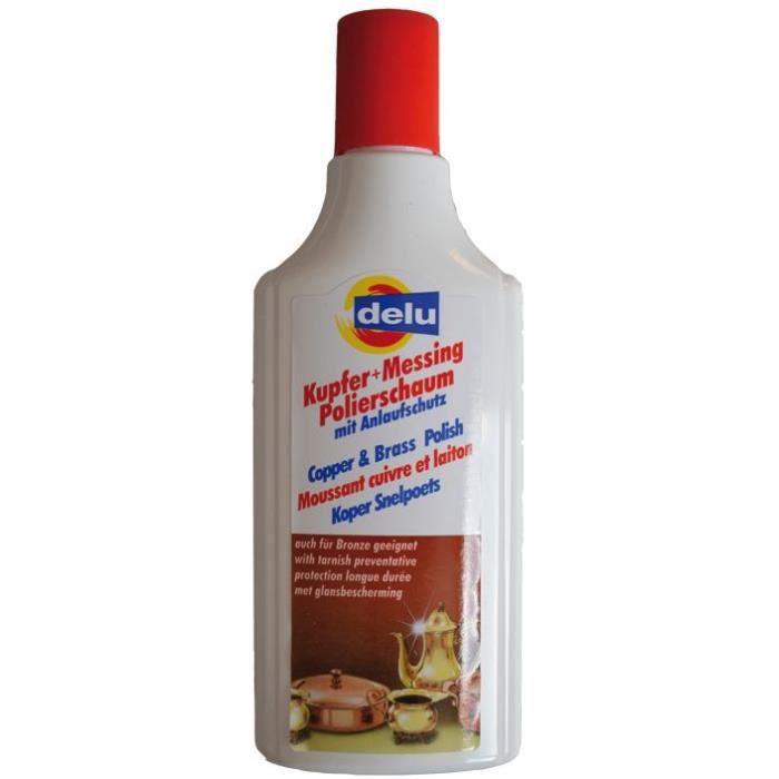 Nettoyant moussant cuivre, laiton - 150mL