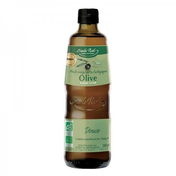 Huile Vierge Bio D'olive Douce Emile Noël