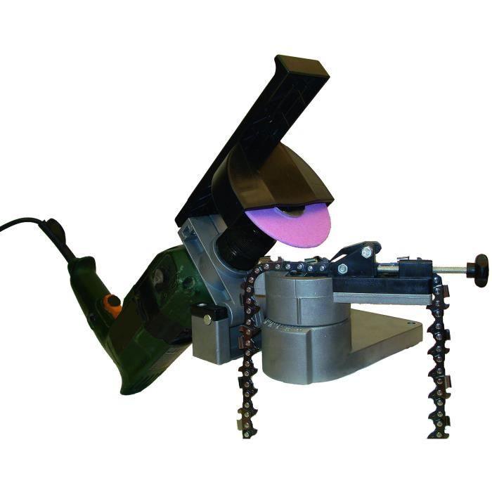 Affuteuse Mini pro s'adapte sur une perceuse - Livrée avec 1 meule épaisseur 3,2 mm