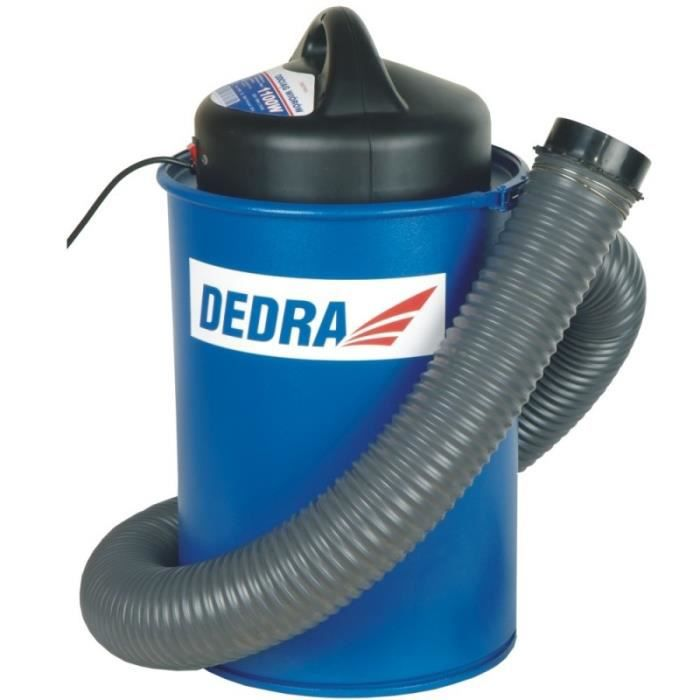 DTOOLS - Collecteur de poussière avec adaptateur - Puissance 1100 W - 70 L - Aspirateur à copeaux - Collecteur de sciure