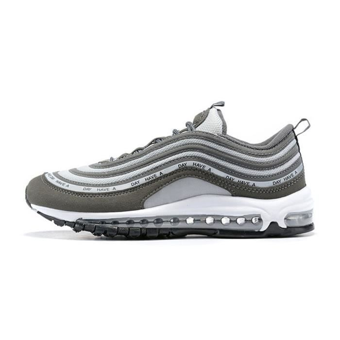 Air Cushion Max 97 Hommes chaussures de course Chaussures d'entraînement Baskets Sneakers XS
