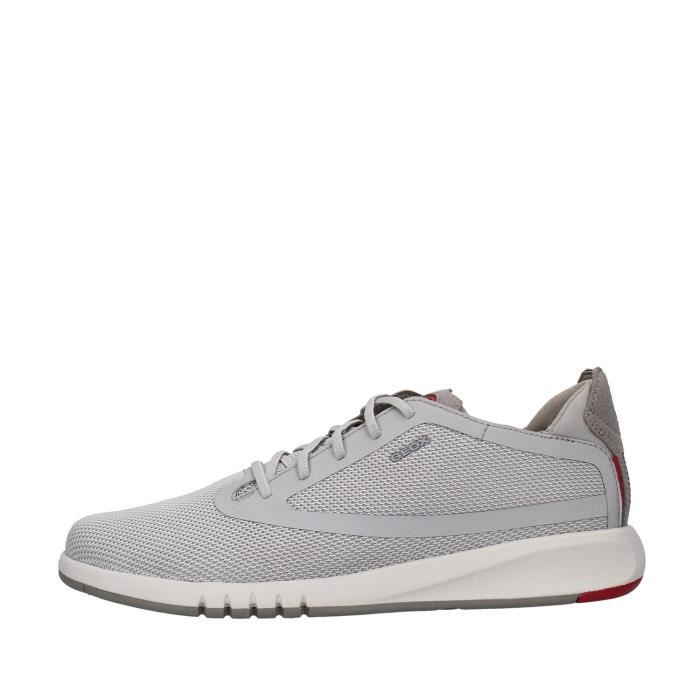 Geox U027FD0006K chaussures de tennis Homme GRIS
