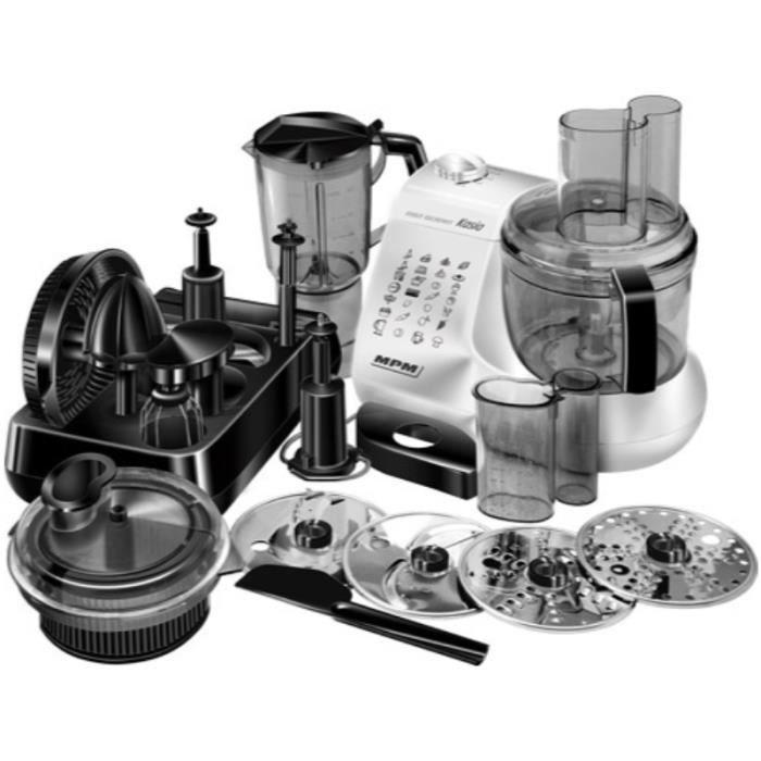 Robot culinaire complet MRK-12 - Noir