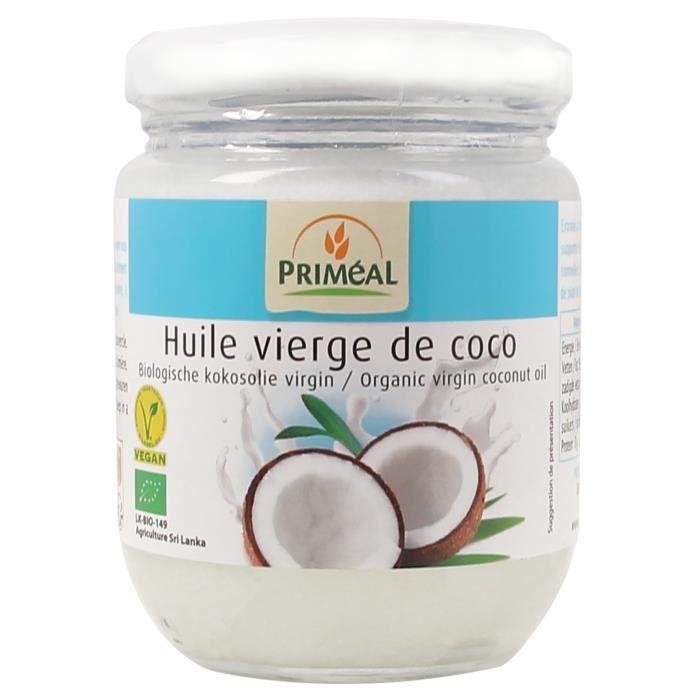 PRIMEAL - HUILE DE COCO 200ML