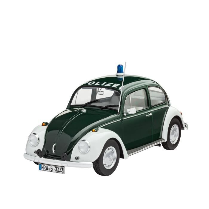REVELL Model-Set VW Beetle Police - Maquette