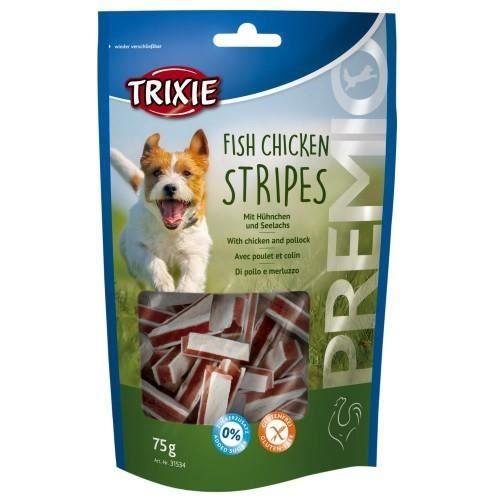 PREMIO Fish Chicken Stripes - PREMIO Fish Chicken Stripes, XXL Pack, 300 g - 31803