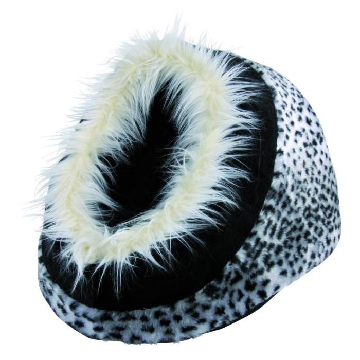TRIXIE Abri douillet Minou 35 × 26 × 41 cm léopard des neiges pour chien
