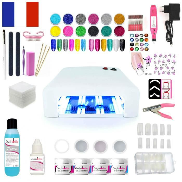kit ongles debutant