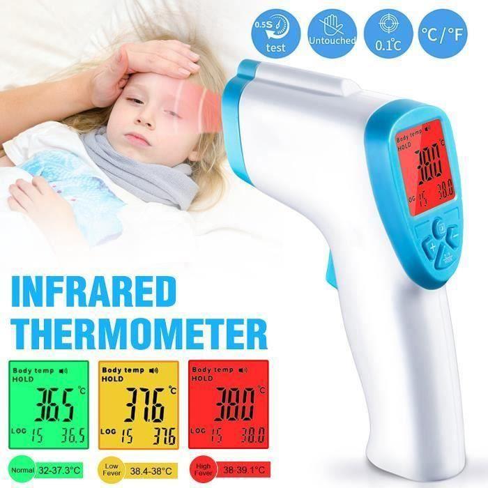 Digital front sans contact Thermomètre bébé enfants Pet Food